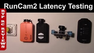 RunCam2 Latency Testing with a bunch of other FPV cameras.