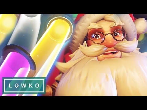Overwatch: Winter Wonderland LOOT BOXES! (Legendary Christmas Skins)