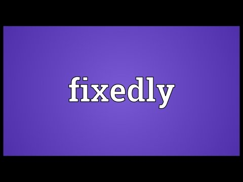 Header of fixedly