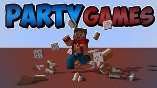 """Dansk Minecraft - Party Games - """"KONFETTIKANONER!"""""""