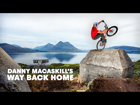 "Danny MacAskill - ""Way Back Home"" - Street trials riding short film"