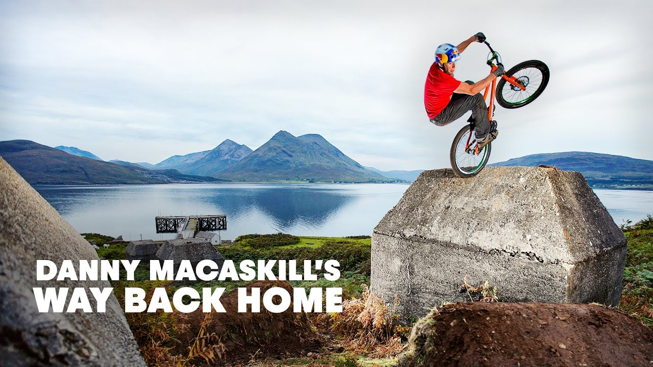 Bike Tricks Danny Macaskill Danny MacAskill quot Way Back