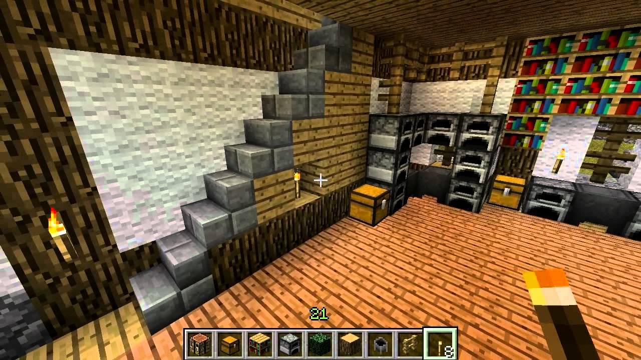Medieval Minecraft Part 108 Tavern Interior Design Season