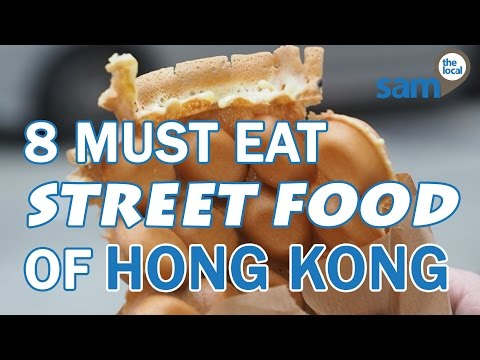 8 Must-Eat Street Foods of Hong Kong