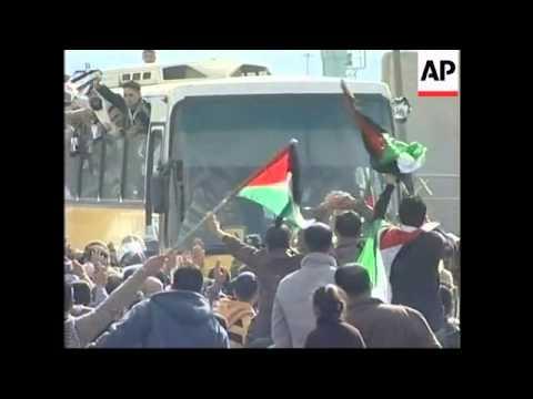 WRAP Israel release 224 Palestinian prisoners, reunions, celebrations
