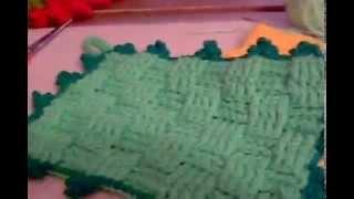 carpetas tejidas crochet