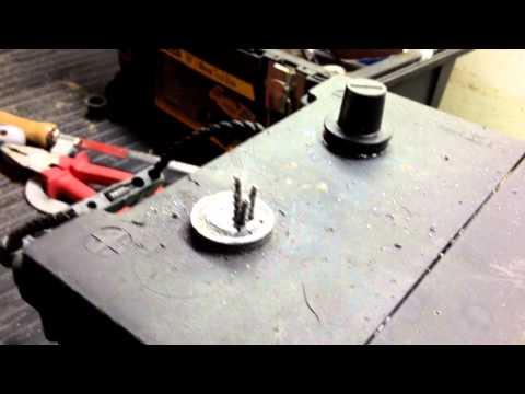 Ремонт клеммы аккумулятора автомобиля своими руками 21