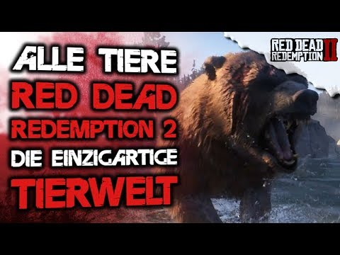 Red Dead Redemption 2 Deutsch - Alle bekannten Tiere / Tierwelt Red Dead Redemption 2