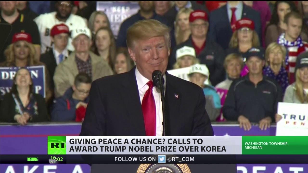 Should Donald Trump get a Nobel Peace Prize over Korea?