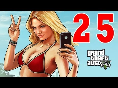 Let´s Play Grand Theft Auto 5 / GTA V Gameplay Deutsch - Part 25 - Der 1. Job ! Einfach nur GEIL !
