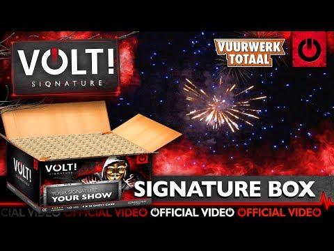 Signature cakebox - VOLT! Siqnature vuurwerk - Vuurwerktotaal [OFFICIAL VIDEO]