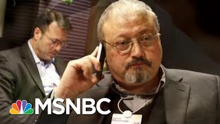 Report: Turks Claim Evidence Of Missing Washington Post Journalist | The Last Word | MSNBC