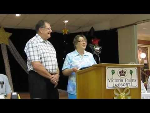 Ron and Dorothea Williamson at Victoria Palms RV Resort 2012 50th Wedding Anniversary
