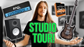Home Studio Tour & Gear Rundown (Garrett Peters)