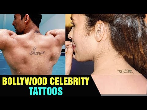 Top 10 Bollywood Celebrities With Their Beautiful 'TATOOS' | Bollywood Fun Facts