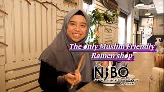 The Only Muslim Friendly Ramen Shop in Sendai City, Japan : Dashiro NIBO