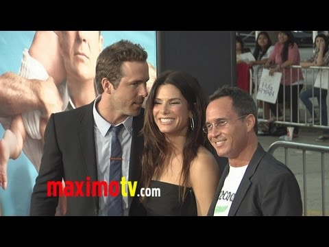 0 Sandra Bullock Supports Ryan Reynolds The Change Up Premiere
