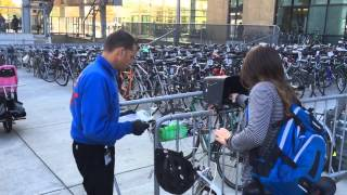 Portland bike valet at America's 'most multimodal intersection' a big success