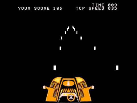 Arcade Game: Night Driver (1976 Atari) [Re-Uploaeded]