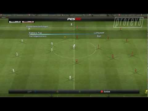 PES 2012 - Kameraperspektiven / camera angles (Review Code) 720p HD