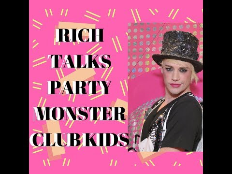 Richie Rich Talks Party Monster And Club Kids