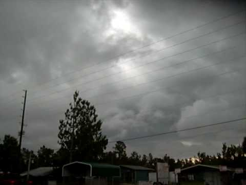 Severe Thunder & Lightning Strorms Approaching Astor, Fl, Pt 2