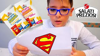 SUPERMAN MI HA FATTO UNA SORPRESA! - BREAK TO SCHOOL - Leo Toys