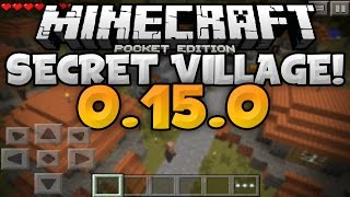 SUPER SECRET STRUCTURE in 0.15.0 - Temples, Villages, & More! - Minecraft PE (Pocket Edition)
