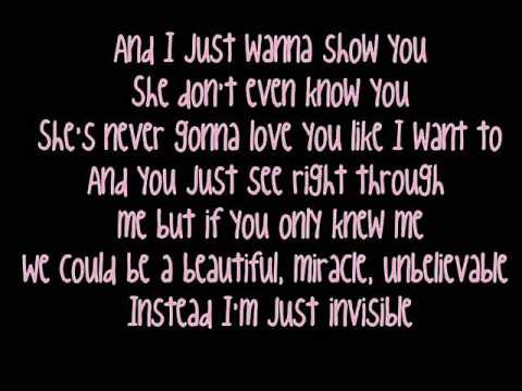 Taylor Swift - Invisible [Lyrics]