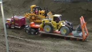 MODERN RC MACHINES - RC CONSTRUCTION SITE - BIG AMAZING RC MODELS AT WORKING !