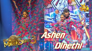 Ashen Siriwardhana with Dinethi Mega Stars 3 | FINAL 11 | 2021-08-01