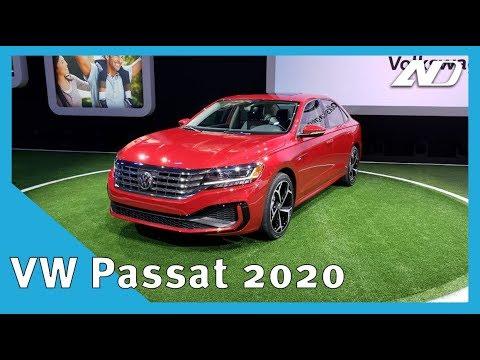 Volkswagen Passat 2020 - Una lavada de cara, nada más | NAIAS 2019