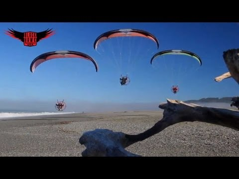 POWERED PARAGLIDING ADVENTURE: Exploring the Lost Coast of California!