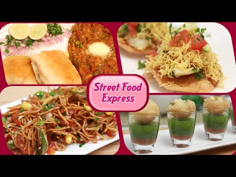 Street Food Express - Quick And Easy Homemade Fast Food / Street Food Recipes