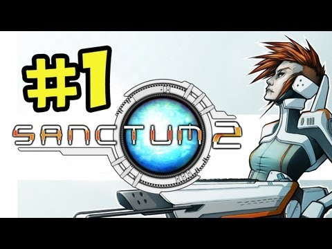 Sanctum 2 CO-OP Walkthrough Part 1 - PC/Xbox/PS3 (1080p Gameplay)