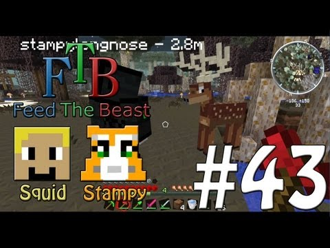 Feed The Beast #43 - Twilight Forest!! - W/Stampylongnose