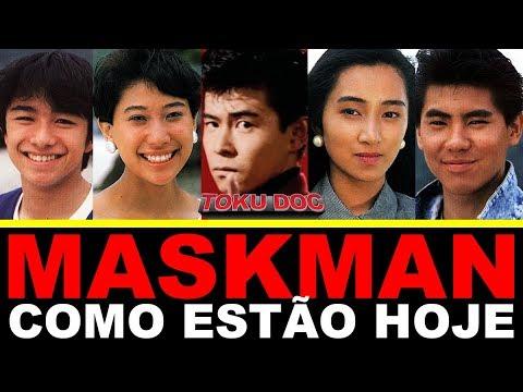 Atores de MASKMAN hoje (atualizado) - TokuDoc