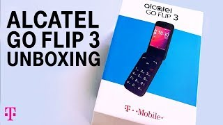 Alcatel GO FLIP™ 3 Phone Unboxing with Des | T-Mobile