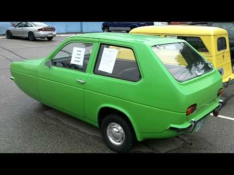 1974 RELIANT ROBIN 3 WHEELED ECONOMY CAR