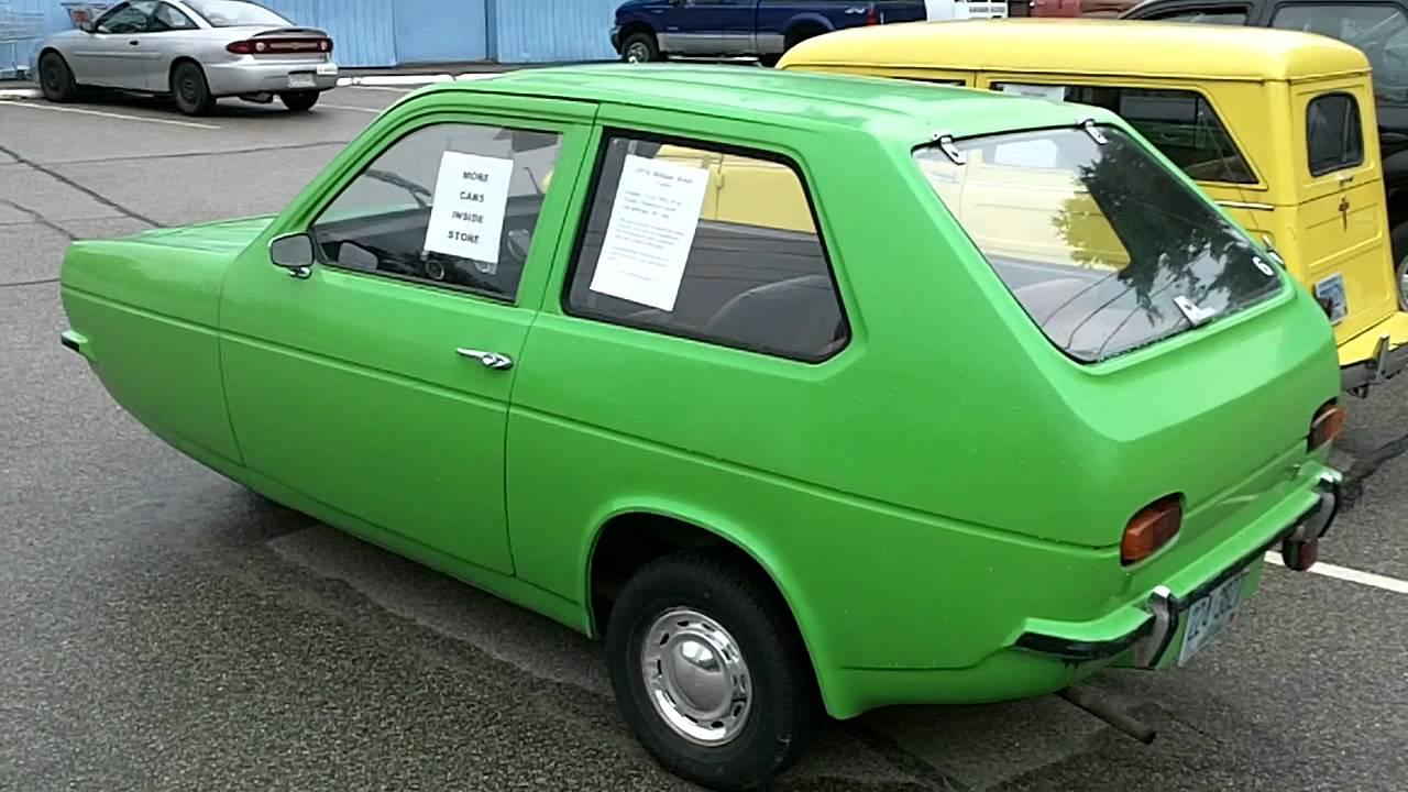 1974 Reliant Robin 3 Wheeled Economy Car Youtube