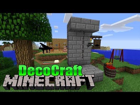 DecoCraft Minecraft Mod