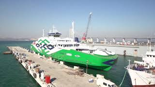 Estonia's new Ferry, LEIGER is ready at Sefine Shipyard/TURKEY