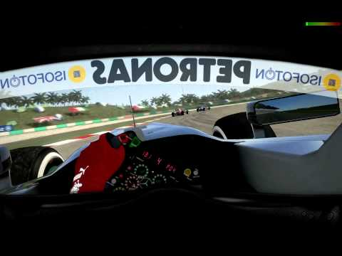 Fom Cockpit Mod Cam Extreme Version – F1 2012 Codemasters