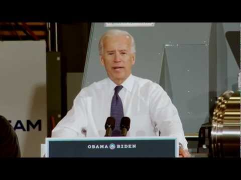Vice President Joe Biden Speaks in Davenport, Iowa - Highlights