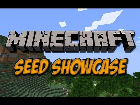Minecraft Seed Showcase - 1.6.4: Best Extreme Hills Biome & With Spawners, A