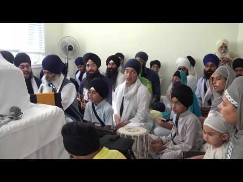 Bhai Amolak Singh Ji (Australia) - Local House Smagam Toronto August 7' 2015