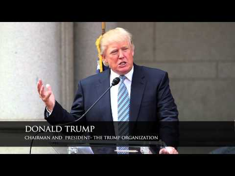 Trump International Hotel- The Old Post Office- Groundbreaking Ceremony