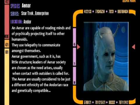 Star Trek species Database #03