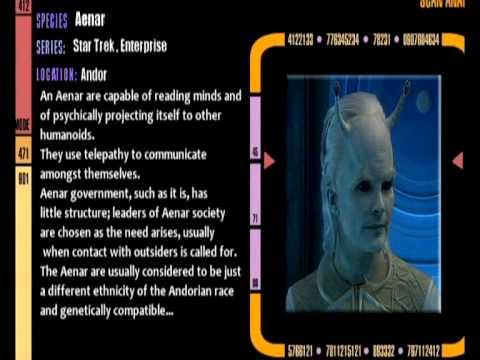 Star Trek species Database #03