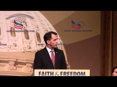 Scott Walker at the Faith and Freedom Coalition Road to Majority, 06-20-2015